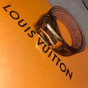 Louis Vuitton Men's Damier Belt